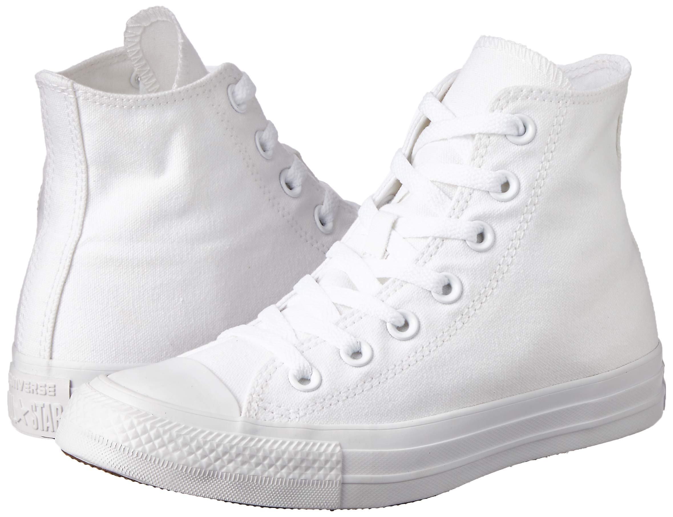 converse all star hi canvas sneaker unisex adulto bianco
