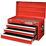 KS Tools 891.0003 Gereedschapskist met 3 lade-rood, L508xH255xB303mm