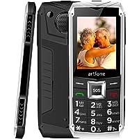 artfone Seniorenhandy ohne Vertrag | Dual SIM Handy mit Notruftaste | Rentner Handy große Tasten | GSM Handy | Großtastenhandy (C3)