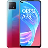 "OPPO A73 5G – Pantalla de 6.5"" (AMOLED, 8GB +128GB, MT6853V, 4040mAh, Triple Cámara con IA, carga rápida 18W, Dual Sim Androi"