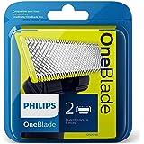 Philips Norelco OneBlade Replaceable blade QP220/55 - Philips Norelco OneBlade Replaceable blade QP220/55, Shaving blade, Bla