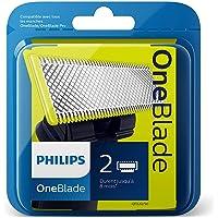 Philips Oneblade Lame de Remplacement, 2 Rasoirs