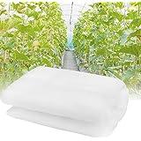 KBNIAN Moustiquaires Transparentes Filet de Jardin Blanc Anti-Insecte Filet de Jardinage Filet de Protection des Légumes cont