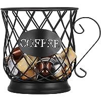Panier de Rangement pour Capsules de Café, UNISOPH Support de dosette Multiple, Support de Rangement de Cuisine de…