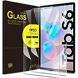 IVSO Templado Protector para Samsung Galaxy Tab S6 10.5 / Samsung Galaxy Tab S5E 10.5, Premium Cristal de Pantalla de Vidrio