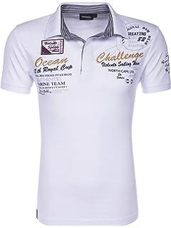 75b03fcc1fa47f behype. Herren Polo-Shirt Monaco Kurzarm T-Shirt 20-304  Amazon.de ...