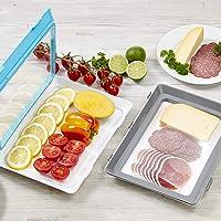 Boite a lunch (Click&Fresh Gris/Bleu)
