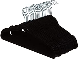 KindLook Suit Hangers - Black (Set of 30)