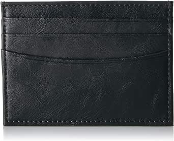 Amazon Essentials - Portafoglio da uomo, sottile, con blocco RFID, minimalista