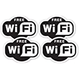 15cmX10cm Schild Free WIFI F/ür Internet Cafe Bar Club Office Shop X1