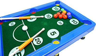 Baby Snooker for Kids(Blue) by EDUVILLE