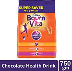 Cadbury Bournvita Chocolate Health Drink, 750 gm Pouch