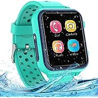 Smartwatch Kinder - Smartwatches Telefon mit Musik SOS Spiele Kamera Stoppuhr Wecker Rekorder Rechner Touchscreen Uhr…