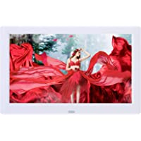 8.2 inch Digital Photo Picture Frames 1280x800 16:9 IPS Display Photo/Music/Video Player Calendar, Clock with Remote…