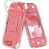 ELTD Custodia Cover per Nintendo Switch lite, Pelle con Funzione di Stand Flip Copertina Smart Case Cover per Switch lite, Tr