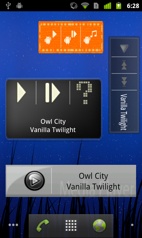 Music Player Widget Maker: Amazon.co.uk: Appstore for Android
