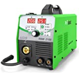 Reboot Soldador MIG 210A IGBT 230V 1 kg/5 kg Gas y sin gas MIG/ARC/Lift TIG 4 en 1 Núcleo de flujo/alambre sólido Máquina de