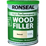 Ronseal Hoge prestaties houten vuller - natuurlijke 1Kg