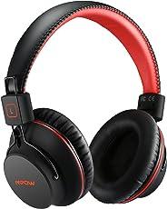 Mpow Bluetooth 4,1 Kopfhörer Over Ear Headset, Wireless Headset mit Dual 40mm Treiber, 20 Stunden Spielzeit, Perfekt Bass, Leichtem Rückstellschaum Ohrpolster, 3,5mm AUX