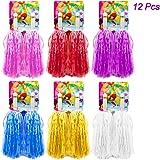 12 Stück Pompons Cheerleading Cheerleader, Halten Hand Shank Cheerleader Pompons