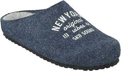 Supersoft 511-128 New York - Pantofole da uomo, in 2 colori