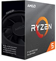 Ryzen 100100000031BOX 5 3600 Processor (6C/12T, 35MB Cache, 4.2 GHz Max Boost) 3.6 GHz base clock, 65 Watts TDP Black