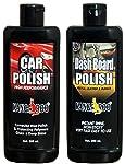 KANGAROO CAR Polish + Dashboard Polish 200 ML Each + 2 Foam Pads
