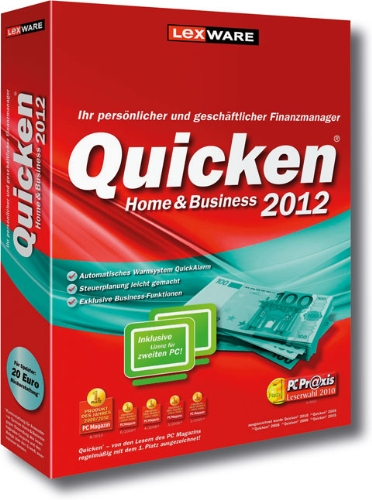 Quicken Home & Business 2012 (Version 19.00)