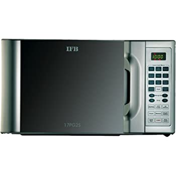 IFB 17 L Grill Microwave Oven (17PG2S, Metallic Silver)