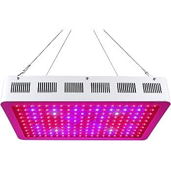 Pflanzenlampe 600w, Roleadro Led Grow Light Lampe mit UV IR Licht ...