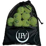 LFY Luminary for you Tennisballen, 15 stuks, inclusief mesh-draagtas, tennisballen, perfect voor training, tennissen, vrijeti