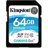 Kingston Canvas Go SDG 64GB Class 10 Speicherkarte
