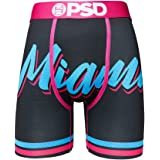 PSD Underwear Men's Stretch Wide Band Boxer Brief Underwear Bottom - Basketball