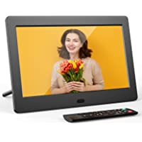 Digital Photo Frame FamBrow 7 inch Digital Picture Frame with HD IPS Display Photo/Music/Video Player Calendar Alarm…