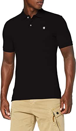 G-STAR RAW Men's Dunda Slim Polo S/S Shirt