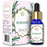 The Beauty Co. Rosemary Pure & Natural Essential Oil For Hair Growth, Prevents Grey Hair, 15 ml | Natural | Made in India