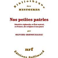Nos petites patries: Identités régionales et État central, en France, des origines à nos jours