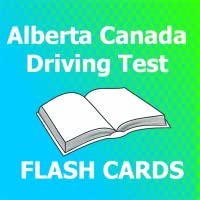 Alberta Canada Driving Test Flash Cards 2018 Ed