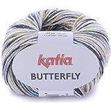 خيوط غزل من كاتيا، متعددة الالوان، 80 - باترفلاي