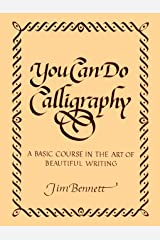 You Can Do Calligraphy Paperback