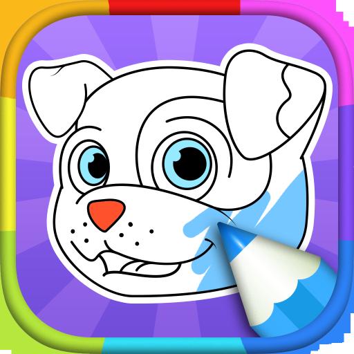 Ausmalbilder Hunde: Amazon.de: Apps für Android