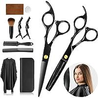 innislink Haarschere Set, Scharfe Haarschneideschere Profi Friseurscheren SetEdelstahl Effilierschere ausdünnen Friseur…