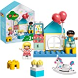 LEGO DUPLOTown StanzadeiGiochi,Scatola con Casa delle Bamboleper Bambini dai 2 Anni in su,Giocattolo per Apprendimento