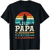Homme Fête des Pères - L'Homme Le Mythe La Légende Papa T-Shirt
