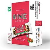 Rine Nutrition Bars  Nuts & Strawberry Energy Bars   Sugarfree Healthy Snacks  6 Granola Bars *50 g Each ( 6 Pack Box)