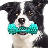 Aweskmod Giocattoli per Cani Spazzolino per Cani Giochi da Masticare Spazzolino Cane Denti Cani Giochi con Squeak Giocattolo