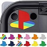 PlayVital Adesivo Decal Skin Vinile per PS5 Console Logo Sticker Sottofondo per Playstation 5 Console Edizione Regolare&Digit