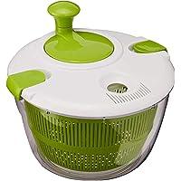 Senmubery Grande essoreuse à salade de 5 L avec design anti-oscillations - Rondelle à la laitue - Séchage efficace et…