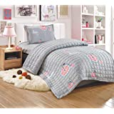 Kids Compressed 3Piece Comforter Set, Single Size