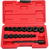 BestsQ 17pc Universal Clutch Aligning Kit Flywheel Pilot Hole and Clutch Drive Plate Alignment Tool
